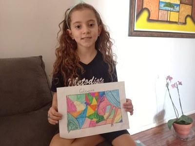 Alunos do 2° ano aprendem movimento Fauvista na aula de Arte