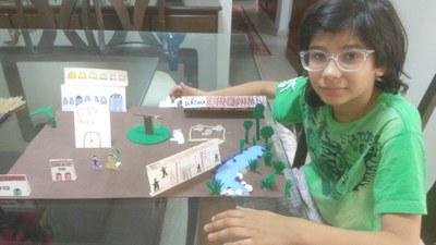 Alunos do 4° ano participam do Projeto Construindo o Saber