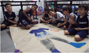 Atividade em grupo dos alunos do 2ª Ano B