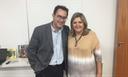 Diretora do Colégio Metodista participa de encontro pedagógico com Augusto Cury