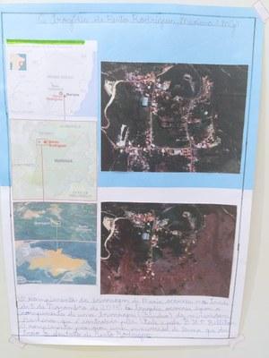 Alunos do 5º ano apresentam trabalho sobre o rompimento de barragens em Mariana