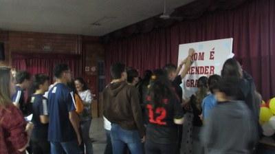 Alunos, docentes e funcionários realizam celebrações de Ação de Graças