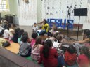 Alunos e professoras também participam da Escola Bíblica de Férias da Igreja Metodista