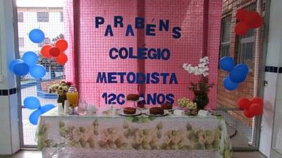 Colégio Metodista inicia celebrações do aniversário de 120 anos