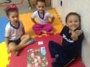 Jogo de Trilha ajuda alunos do Pré I a resolverem questões