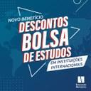 Novo benefício: descontos e bolsas de estudo em instituições internacionais