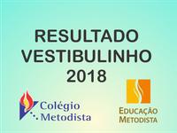 Resultado Vestibulinho 2018