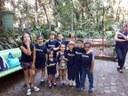 Visita ao zoológico foi mais uma das atividades do Curso de Férias